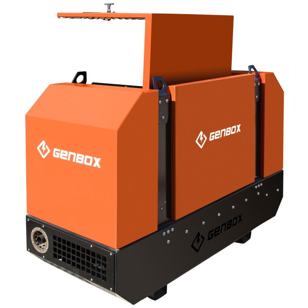 Дизельный генератор GENBOX KBT25T-3000 - 3