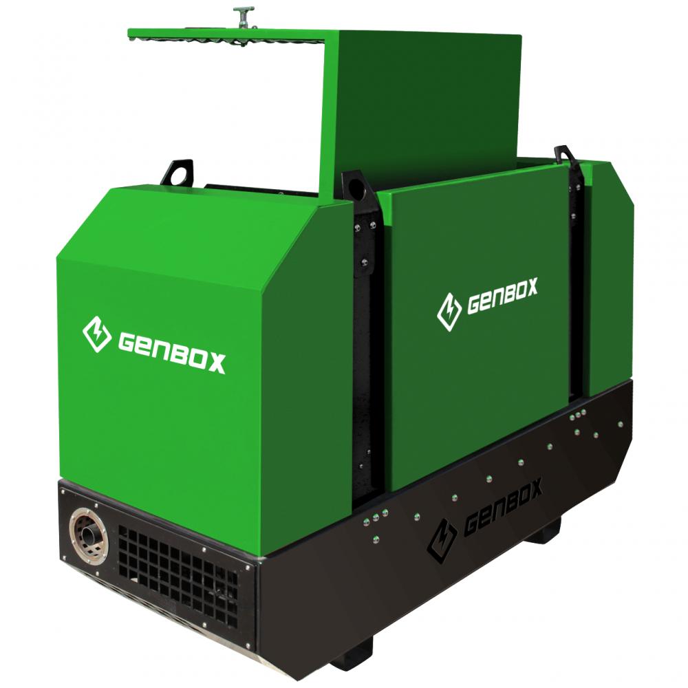 Дизельный генератор GENBOX DE10T - 4