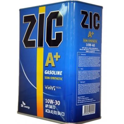 Моторное масло ZIC A+ для бензиновых двигателей 10W-30
