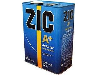 Моторное масло ZIC A+ для бензиновых двигателей 10W-40