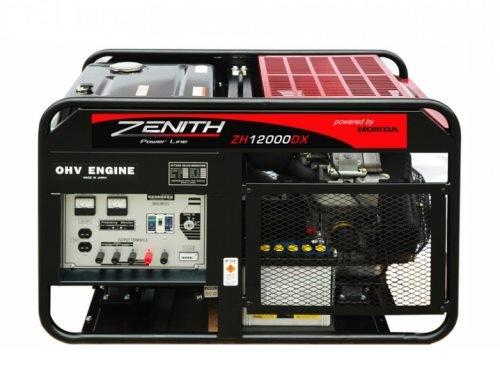 Бензиновый генератор ZENITH ZH12000DX