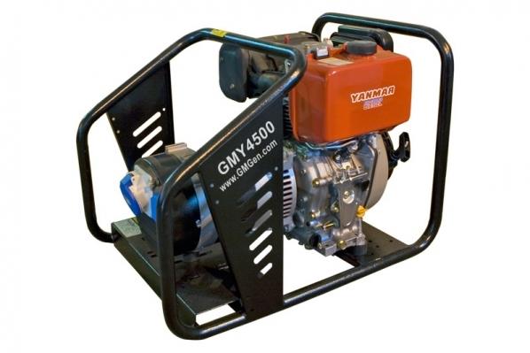 Дизель-генератор GMGen GMY4500