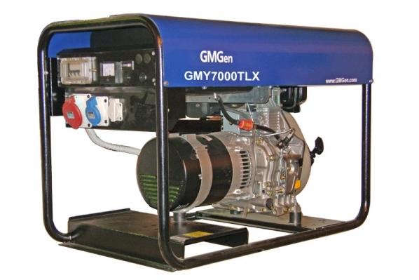 Дизель-генератор GMGen GMY7000TLX