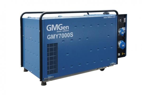 Дизель-генератор GMGen GMY7000S