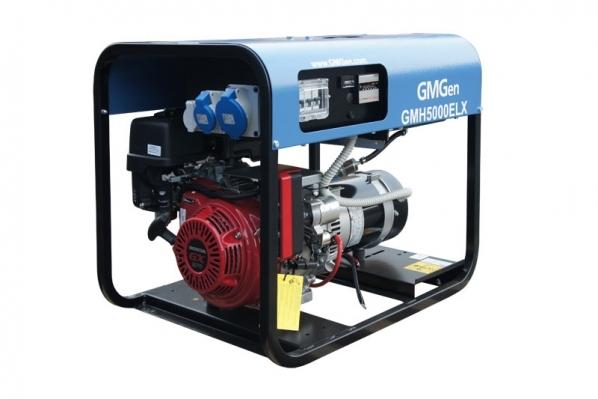 Бензогенератор GMGen GMH5000ELX