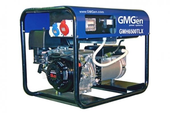 Бензогенератор GMGen GMH6500TLX
