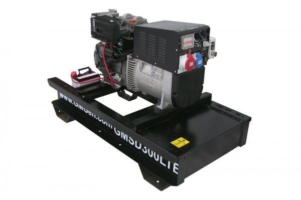 Дизельный сварочный генератор GMGen GMSD300LTE