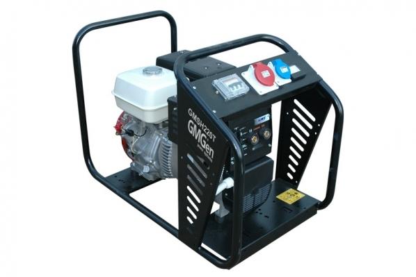 Бензиновый сварочный генератор GMGen GMSH220T