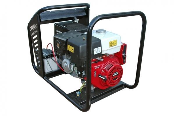 Бензиновый сварочный генератор GMGen GMSH220TE