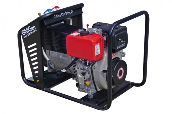 Дизельный сварочный генератор GMGen GMSD180LE