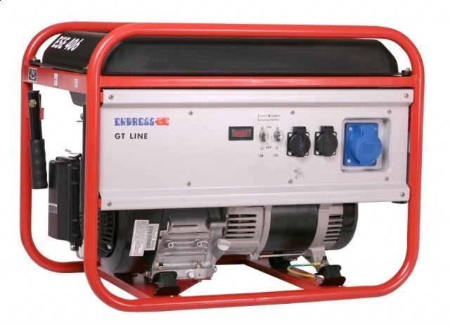 Бензиновый электрогенератор ENDRESS ESE 406 RS-GT
