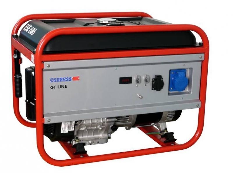 Бензиновый электрогенератор ENDRESS ESE 606 DRS-GT