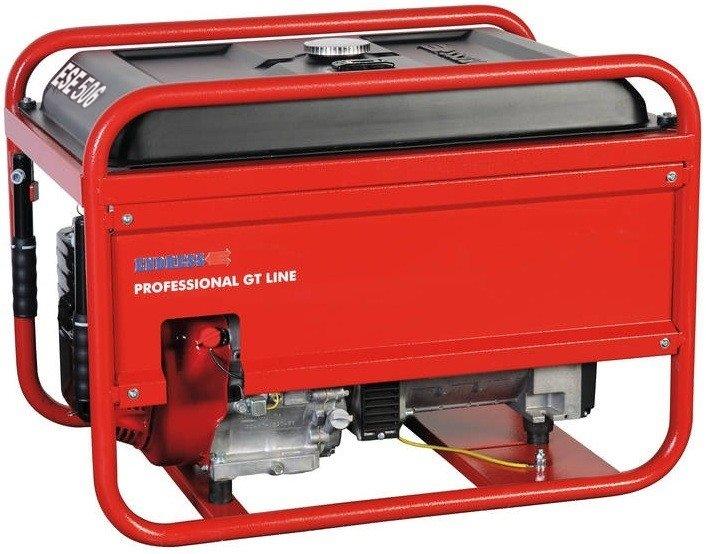 Бензиновый электрогенератор ENDRESS ESE 506 DHS-GT