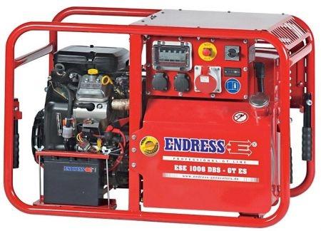 Бензиновый электрогенератор ENDRESS ESE 1006 DBS-GT