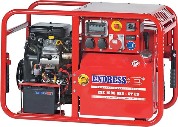 Бензиновый электрогенератор ENDRESS ESE 1006 DBS-GT ES