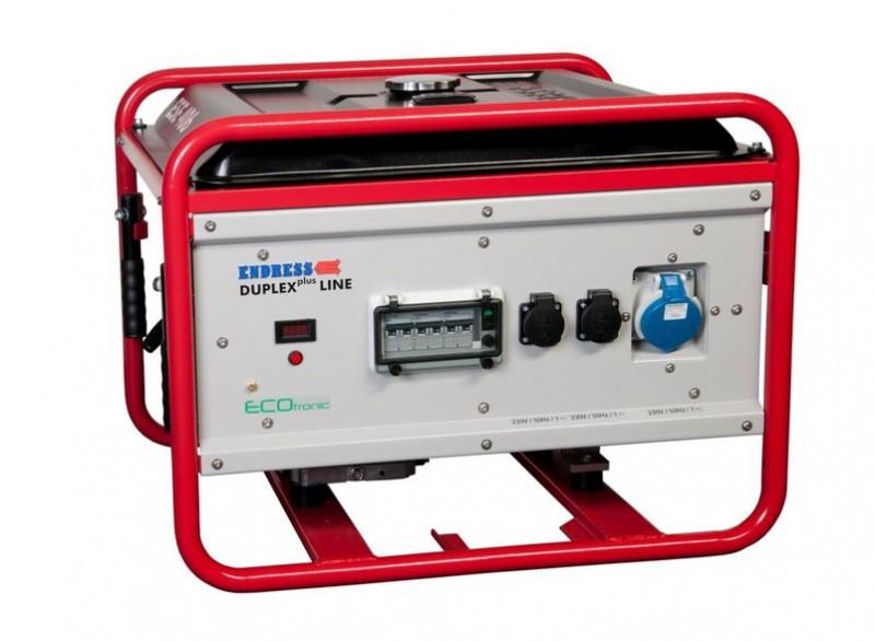 Бензиновый электрогенератор ENDRESS ESE 406 HG-GT ES DUPLEX