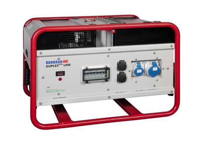 Бензиновый электрогенератор ENDRESS ESE 1006 DSG-GT ES DUPLEX