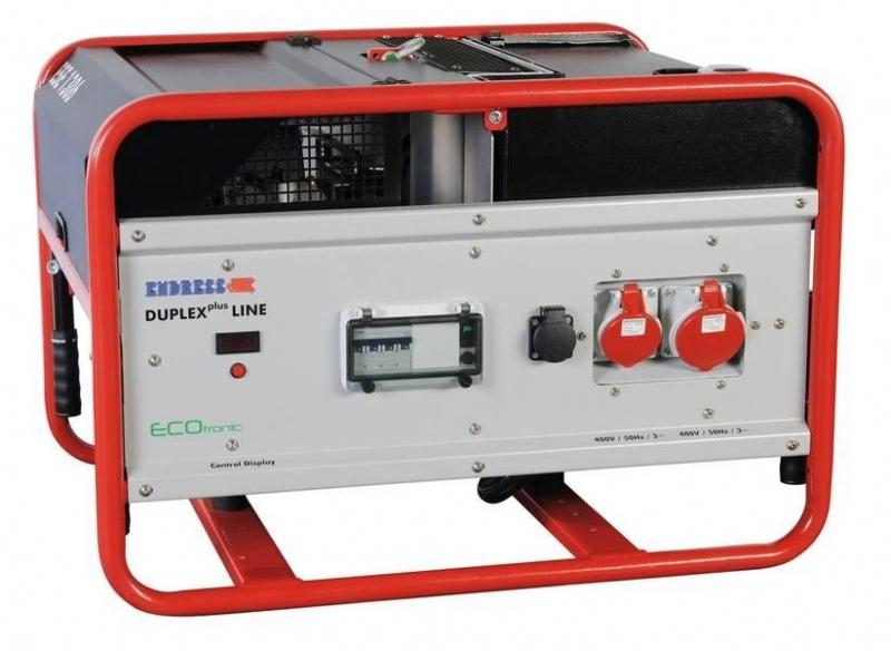 Бензиновый электрогенератор ENDRESS ESE 1306 DSG-GT ES DUPLEX