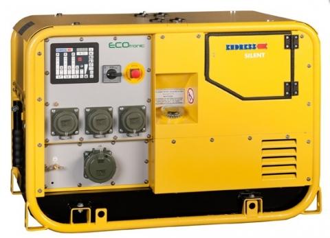 Бензиновый электрогенератор ENDRESS ESE 1407 DBG ES DIN