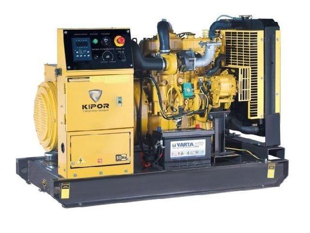 Дизельный генератор KIPOR KDE30E3, 400/230В, 19.2 кВт