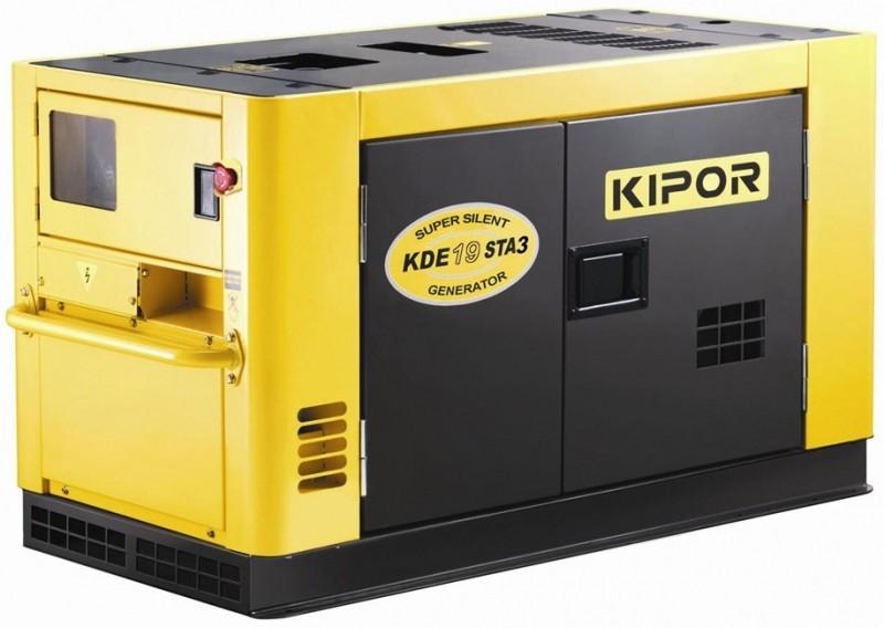 Дизельный генератор KIPOR KDE16STA3, 400/230В, 10.8 кВт