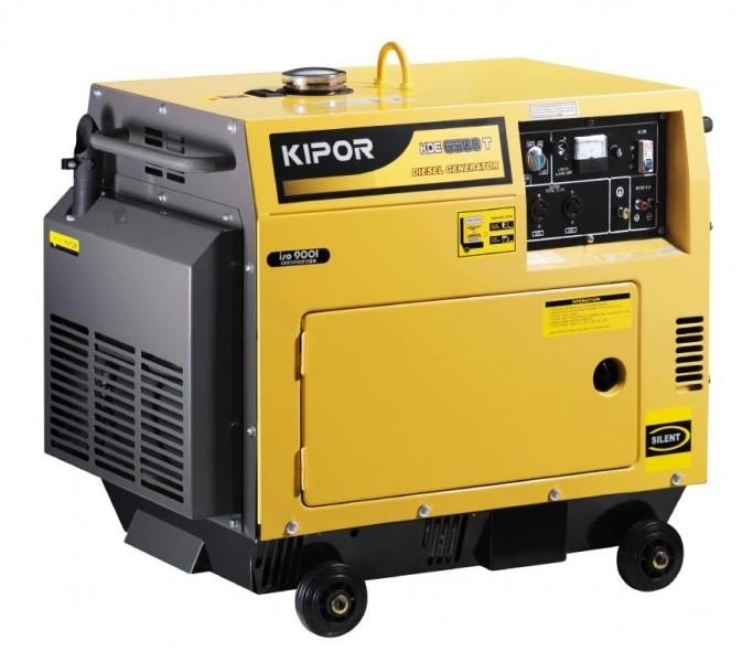 Дизельный генератор KIPOR KDE6700TA, 230В, 4.5 кВт