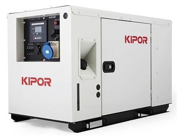 Инверторный дизельный генератор KIPOR ID15, 230В, 14.5 кВт