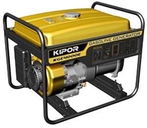 Бензогенератор KIPOR KGE4000E, 230В, 3 кВт