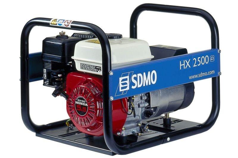 Бензогенератор SDMO HX2500, 230В, 2.2 кВт
