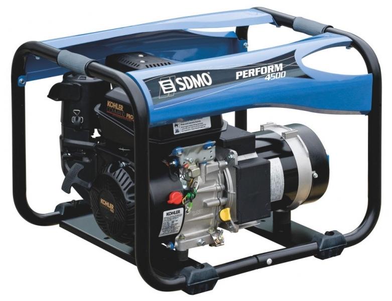 Бензогенератор SDMO Perform 4500, 230В, 4.2 кВт