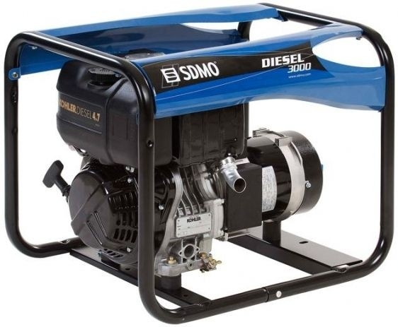Дизельная электростанция SDMO Diesel 3000 230В, 2.4 кВт