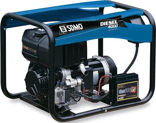 Дизельная электростанция SDMO Diesel 4000 230В, 3.4 кВт