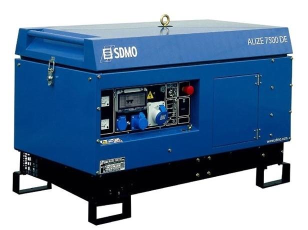 Дизельная электростанция SDMO XP-T8HKM 230В, 7.6 кВт