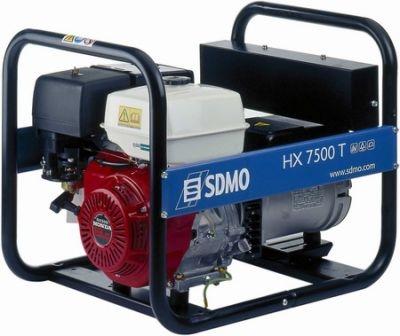 Бензогенератор SDMO HX 7500 T, 400/230В, 6 кВт