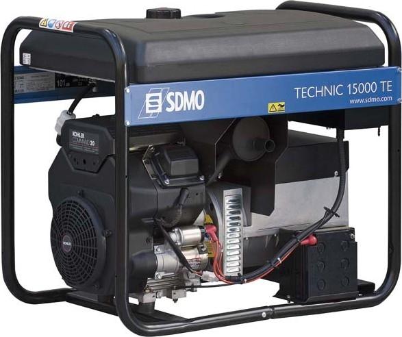 Бензогенератор SDMO Technic 15000TE, 400/230В, 9.6 кВт