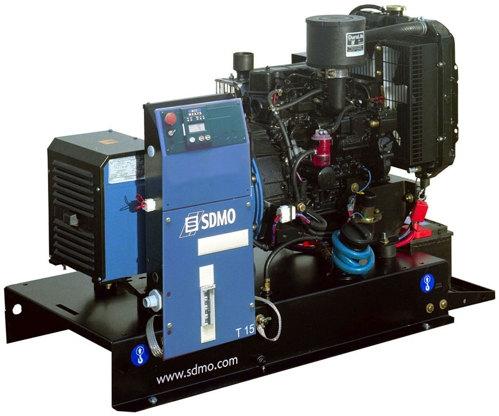 Дизельная электростанция SDMO XP-T12HK 400/230В, 9.6 кВт
