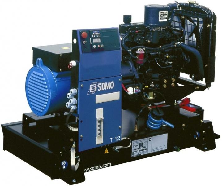 Дизельная электростанция SDMO T 12K Nexys, 400/230В, 10.5 кВт