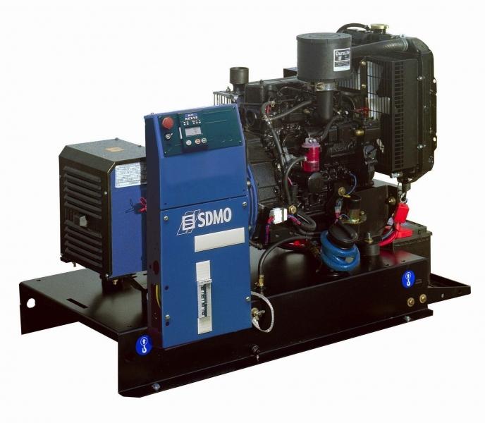 Дизельная электростанция SDMO T 9K M, 230В, 7.8 кВт