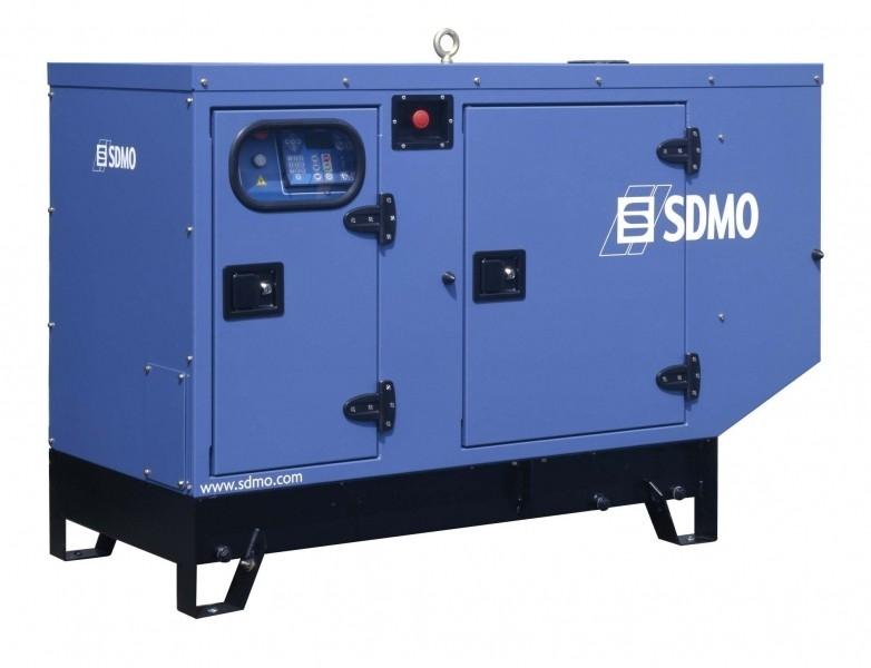 Дизельная электростанция SDMO T 9K M Silent, 230В, 7.8 кВт