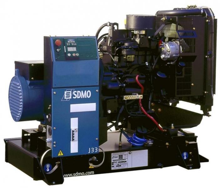 Дизельная электростанция SDMO J33 Nexys, 400/230В, 24 кВт