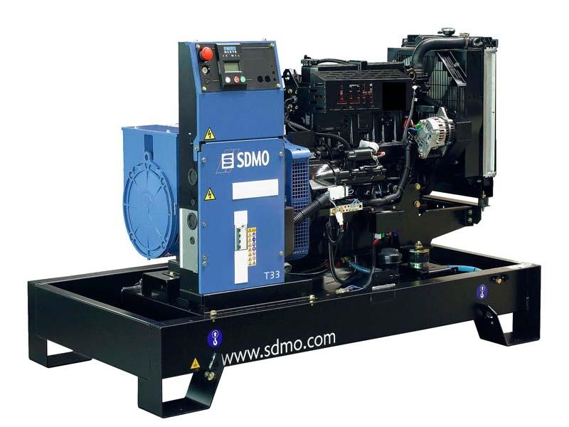 Дизельная электростанция SDMO T33 Nexys, 400/230В, 30 кВт