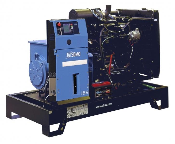 Дизельная электростанция SDMO J88K Nexys, 400/230В, 80 кВт