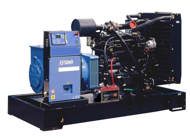 Дизельная электростанция SDMO J200K Nexys, 400/230В, 182 кВт