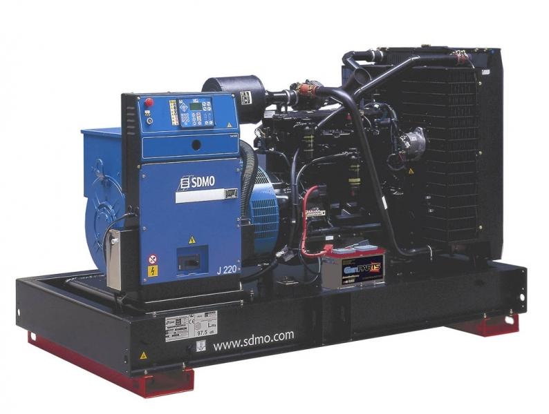Дизельная электростанция SDMO J220C2 Nexys, 400/230В, 200 кВт
