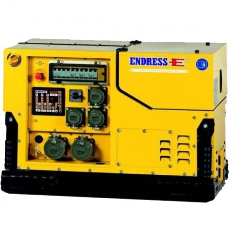 Бензиновый электрогенератор ENDRESS ESE 1408 DBG ES DIN Silent