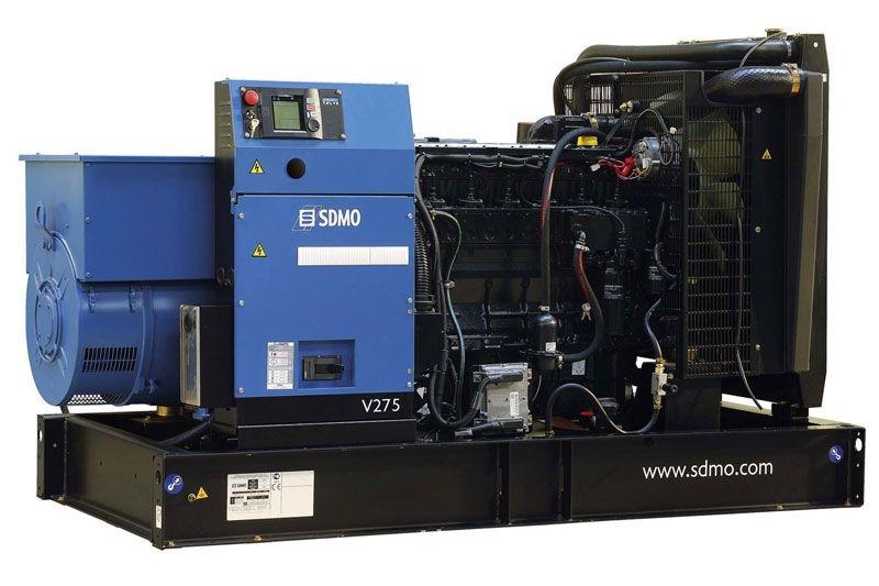 Дизельная электростанция SDMO V275 K, 400/230В, 220 кВт