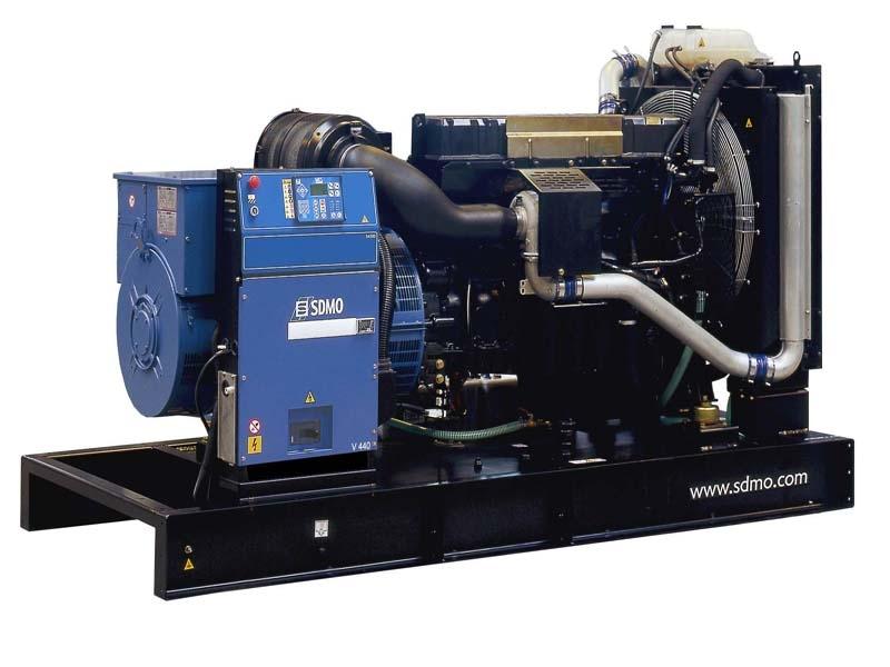 Дизельная электростанция SDMO V440 K, 400/230В, 352 кВт