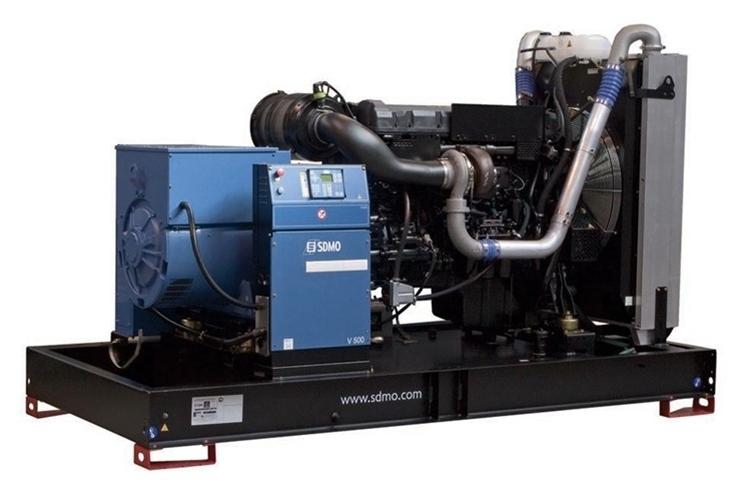 Дизельная электростанция SDMO V500 K, 400/230В, 400 кВт