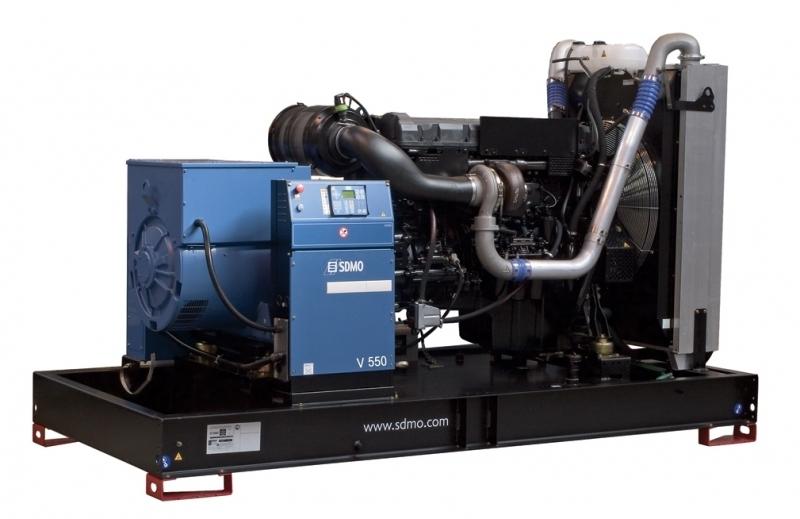 Дизельная электростанция SDMO V550 K, 400/230В, 440 кВт