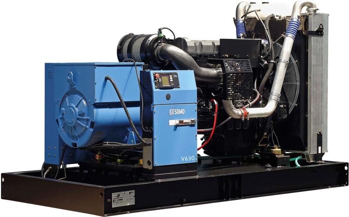 Дизельная электростанция SDMO V630 K, 400/230В, 504 кВт